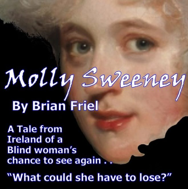 molly sweeney by Brian Friel - production by 3penny theatre at the gayton kirk in richmond va