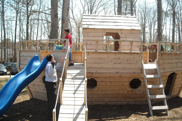ark playground for kids at progressive Christian Church in Richmond VA