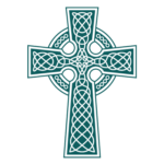 The Gayton Kirk logo - celtic cross