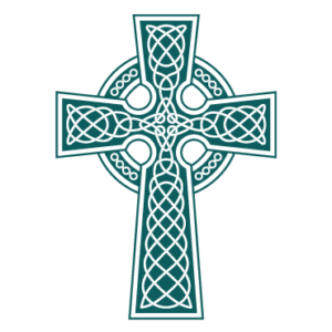 The Gayton Kirk logo - celtic cross